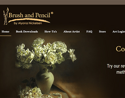Brush and Pencile eCommerce Site