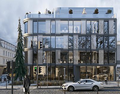 OFFICE BUILDING IN LVIV