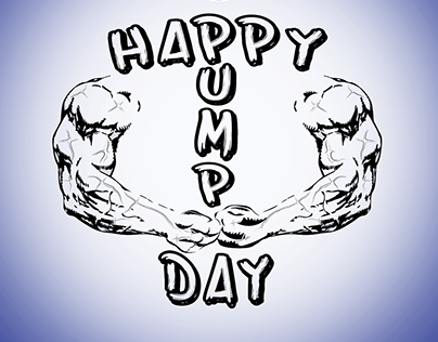 Logo design: Happy Pump Day