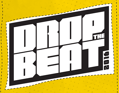 Drop the Beat // Dance Competition branding