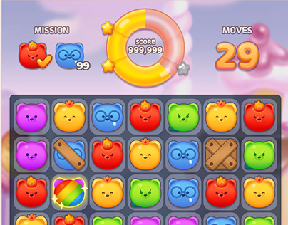 casual mobile puzzle game