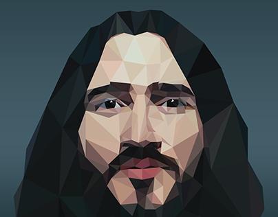 John Frusciante Low Poly