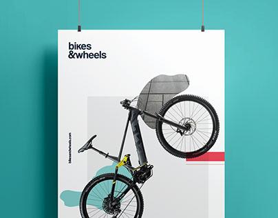 Bikes&wheels rebranding and website