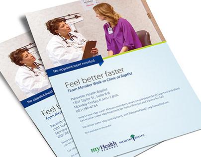 Palmetto Health - Fliers
