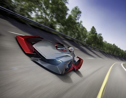 Peugeot // Sketch Modeling