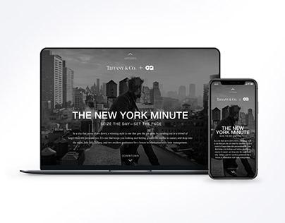 GQ x Tiffany & Co., The New York Minute