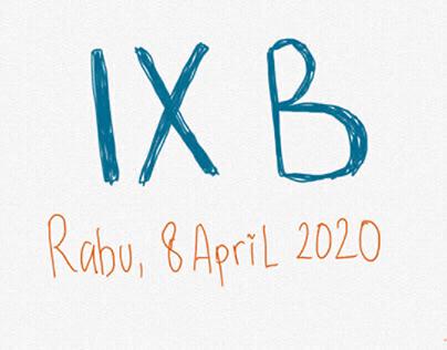 IX B (8 April 2020)