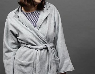 Garment: Wrap Coat