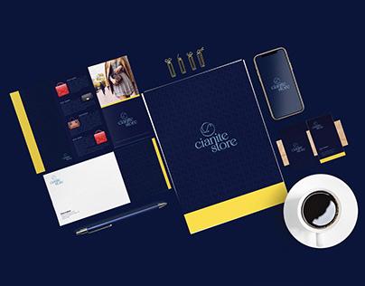 Identidade Visual - Cianite Store