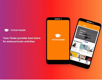 Android presentation tutor finder