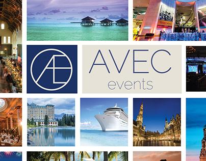 Avec Events Logo Brand Exploration