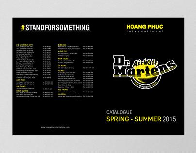 Dr. Martens Catalogue Spring Summer 2015