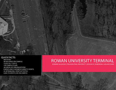 Rowan University Train Station Proposal
