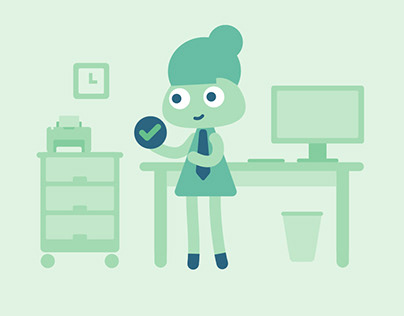 Animated types of work