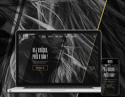 Luxury Hair Salon Website