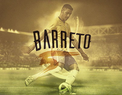 Barreto (Soccer Player) - Sport Branding