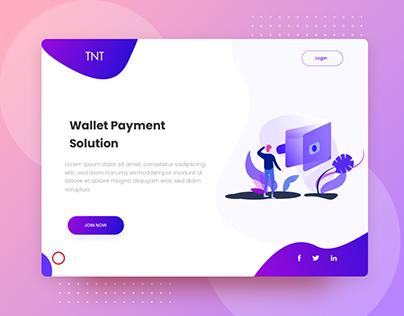 Wallet Landing Page