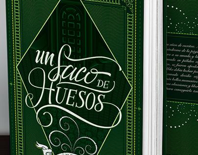 Hardcover book - Un saco de huesos (Stephen King)