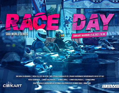 Cover for SWS Race day in Maribor ©cibikart