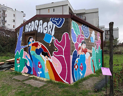 A Collaborative Murales in the South of Italy