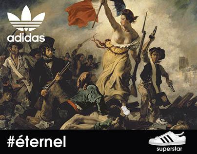 Poster Adidas #éternel