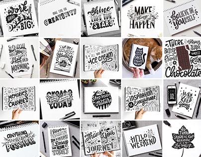 Sketchbook Lettering (I)