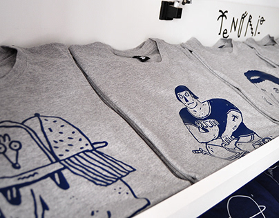 T-shirts para a Type It Store