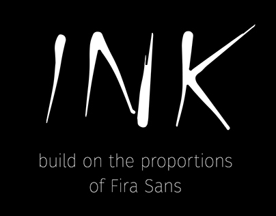 Ink - Experimental Typography with free download