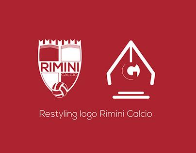 Restyling stemma Rimini Calcio