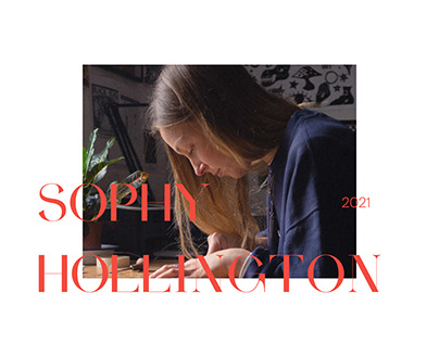 Sophy Hollington Redesign Concept