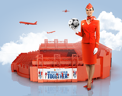 Aeroflot ManUtd sponsorship match day