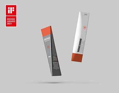 犀利与圆润-药膏包装 | Sharp and Soft -- Ointment Packaging