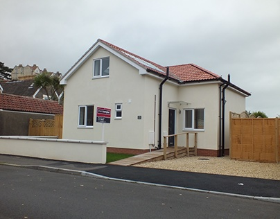 New house in back garden