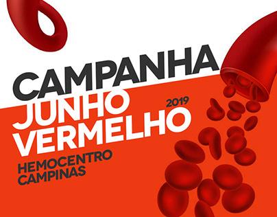 Junho Vermelho - Hemocentro Campinas