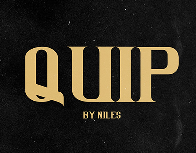 QUIP (Free font)
