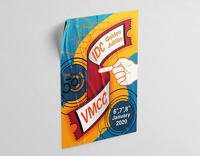 IDC Golden Jubilee - Signage & Merchandise Design