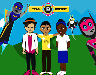 Team RocBot - Childrens Story Concept Art