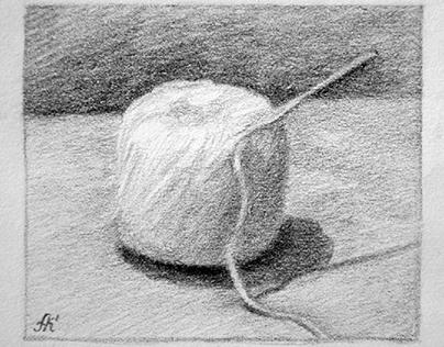 Sketch of a thread ball