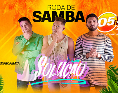 CAMPANHA RODA DE SAMBA DO PIRATA BAR