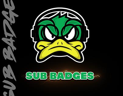 Sub Badges