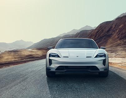 Porsche Taycan @ Silk Road