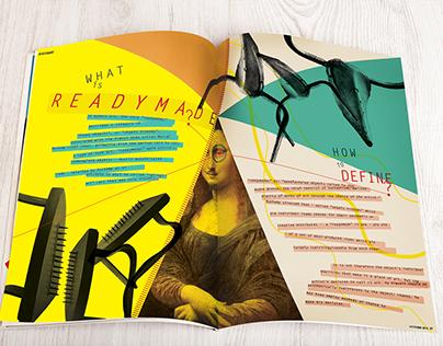 Dadaism - Magazine Design