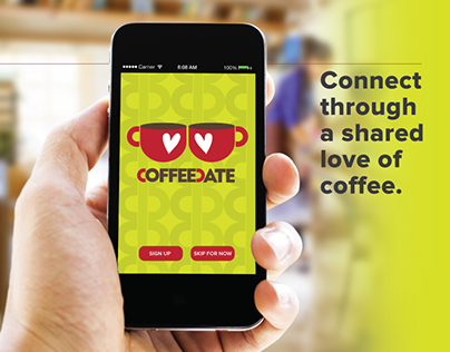 CoffeeDate: mobile app