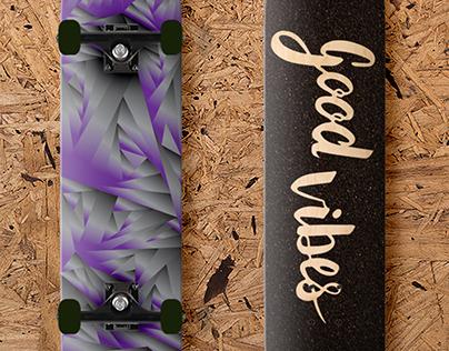 Zen Tangle Skateboard