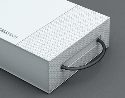 Progettazione Packaging campionario alveolare