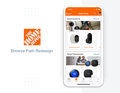 The Home Depot - App: New Browse MVP