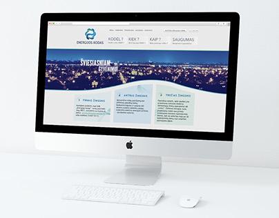 ENERGIJOS KODAS internetinis puslapis