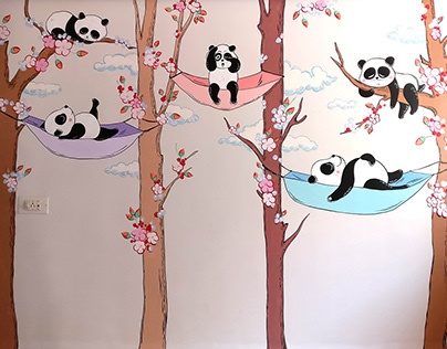 Kids Wall Painting