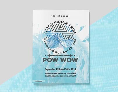 Pow Wow Program: Tejon Indian Tribe