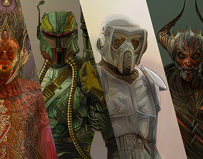 STAR WARS Characters Dark Side